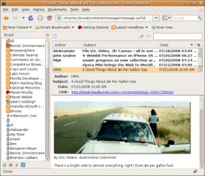 Mozilla Разрабатывает Идеальный RSS Ридер Snowl