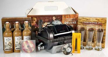 Новогодний Комплект DeLuxe 2008 с бокалами
