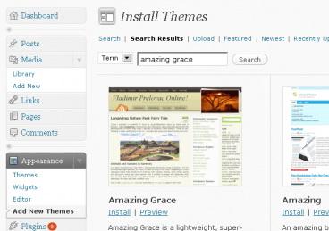 Добавили возможность загрузки шаблонов с WordPress.org