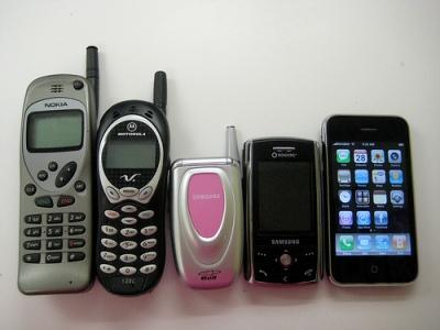 Классификация сотовых телефонов