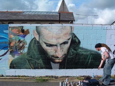9 преимуществ граффити-рекламы