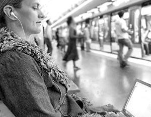 Московское метро имеет бесплатный Wi-Fi